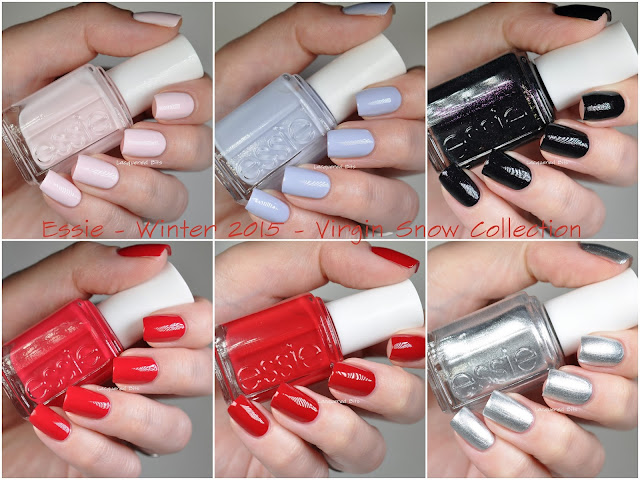 Essie Winter 2015 - Virgin Snow Collection - Swatches & Review