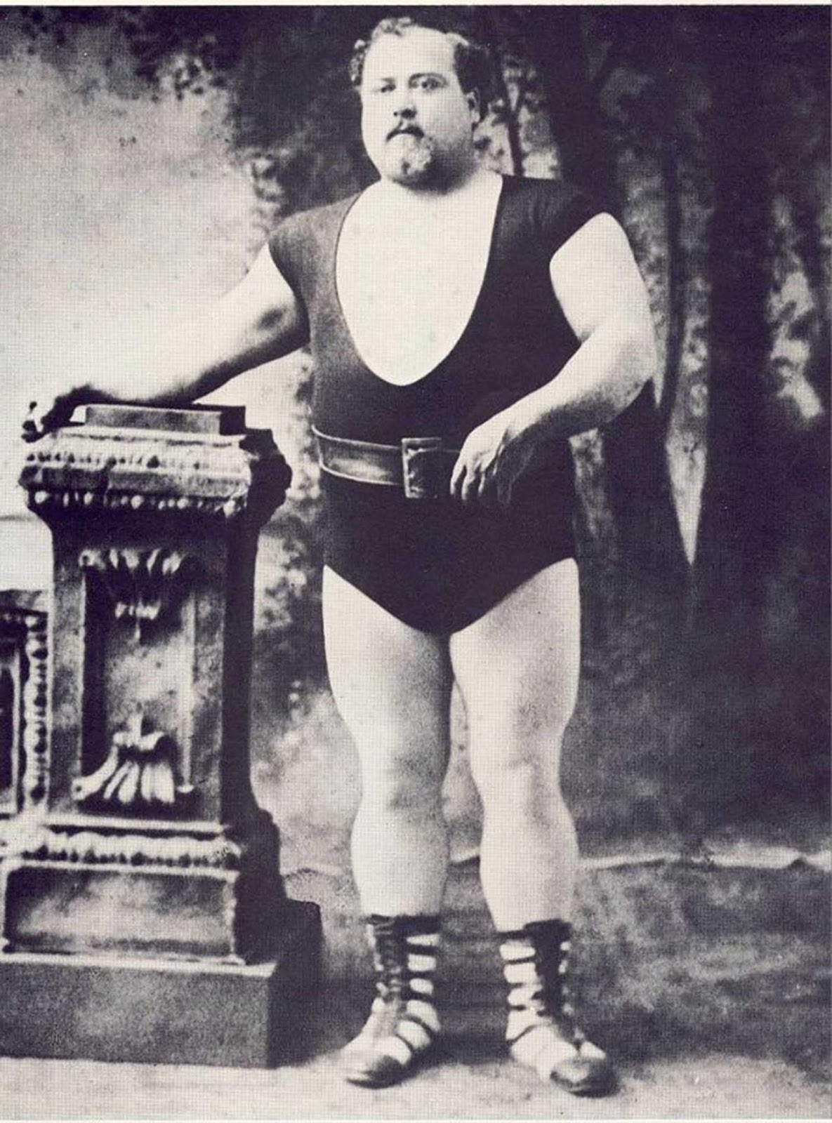 Louis Cyr, the French Canadian strongman.