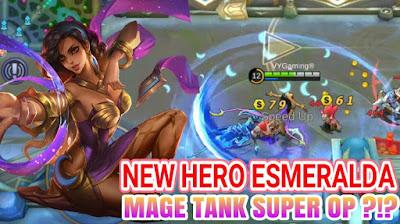 Hero Baru Asmeralda (Mage/Tank) Pertama di Mobile Legends