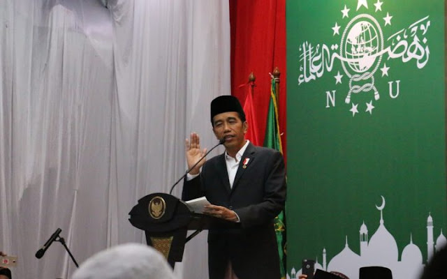 Presiden Jokowi Apresiasi Peran NU Membawa Semangat Persatuan Bangsa