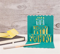 Cricut Personalized Birthday Card