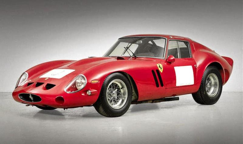 激レアな「フェラーリ250GTO」がオークションで39億円で落札!