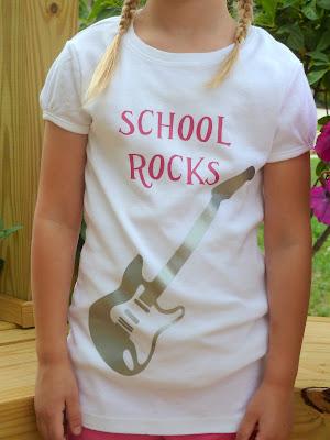 school+rocks2 School Rocks T-shirt using Iron on Vinyl 5