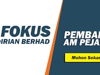 Jawatan Kosong di IP Fokus Sdn Bhd - Pembantu Am Pejabat Diperlukan