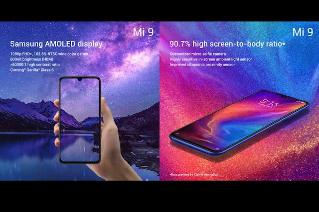 Spesifikasi Dan Harga Xiaomi Mi 9 (Cepheus)