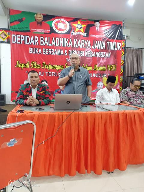 Baladhika Karya Jawa Timur Adakan Buka Puasa & Diskusi Kebangsaan