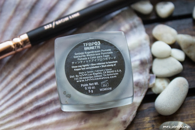 NYX Tinted brow pomade Tame&Frame 03 Brunette