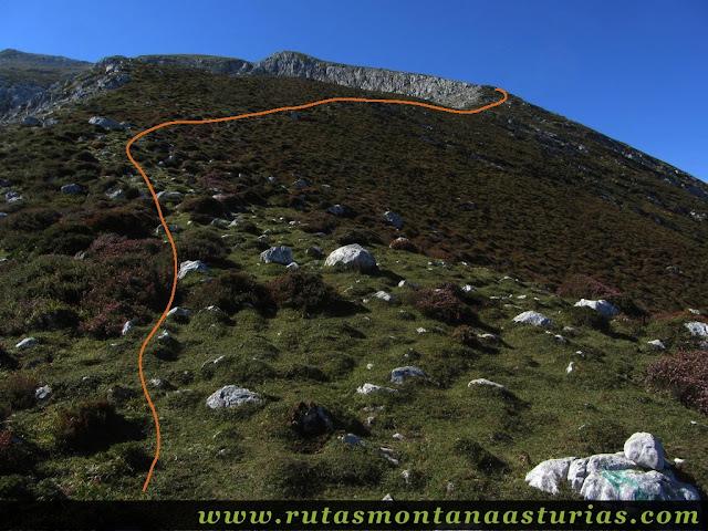 Ruta Jito Escarandi Cueto Tejao: Camino a los Llanos de Braniella