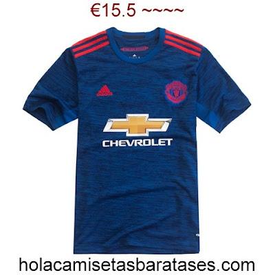 camiseta manchester united 2016 comprar