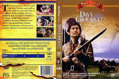 Carátula 2 - Davy Crockett rey de la frontera / Online / Descargar / Película