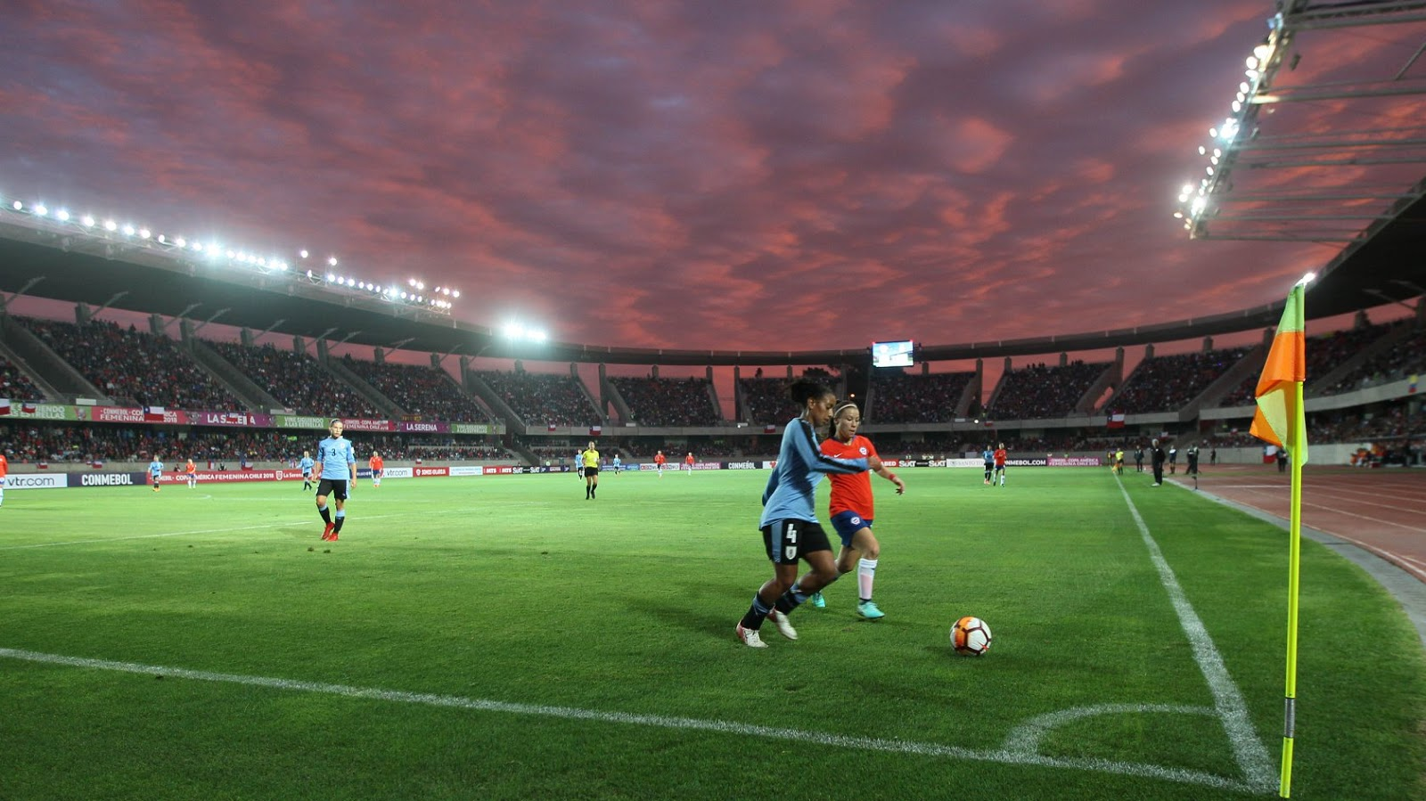 Chile y Uruguay en Copa América Femenina 2018, 10 de abril