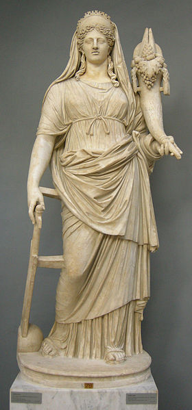 Roman replica of Greek Statue of the Fourth Century CE, from the New Wing Chiaromonte Museum of the Vatican Museums, Vatican City, Italy. Photo credit: Sailko