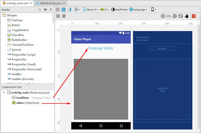 Cara Membuat Aplikasi Video Player Keren dengan Android Studio