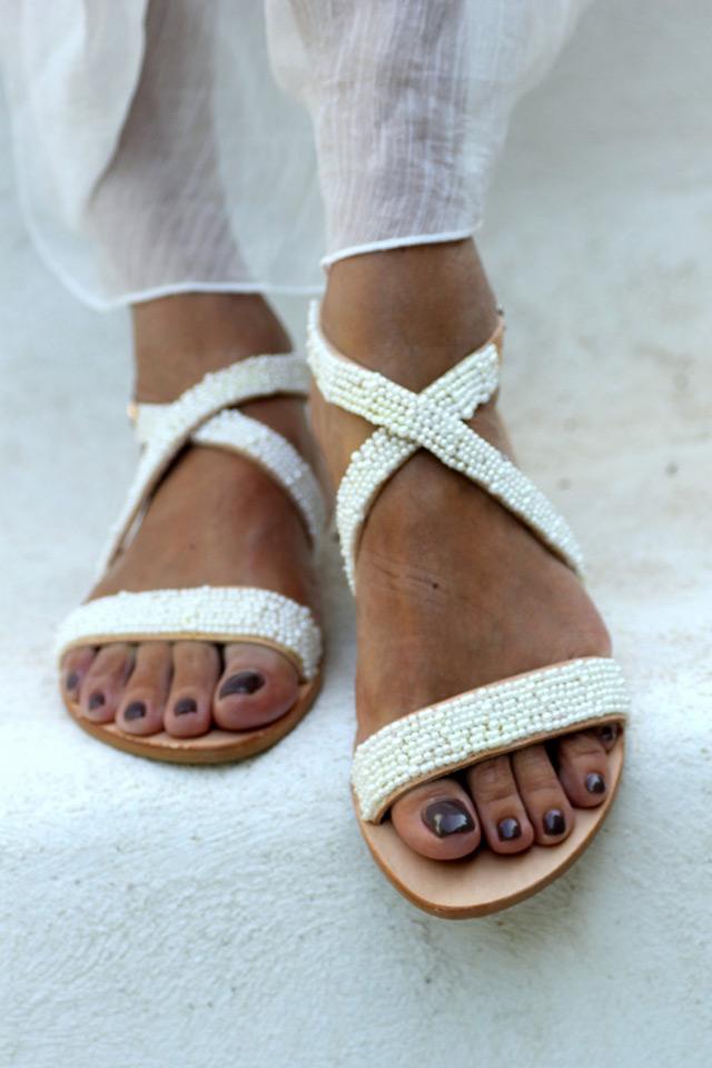 Elina Linardaki grčke sandele, sandale za vjenčanje