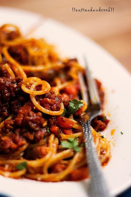 how to cook Spaghetti Alla Bolognese recipe and preparation