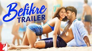 Befikre – Official HD Trailer – Vaani Kapoor Bikini, Ranveer Singh –