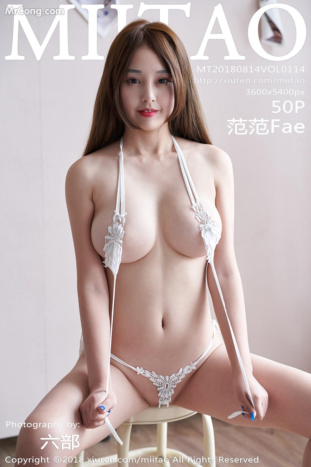 MiiTao Vol.114: Người mẫu 范范Fae (51 ảnh)
