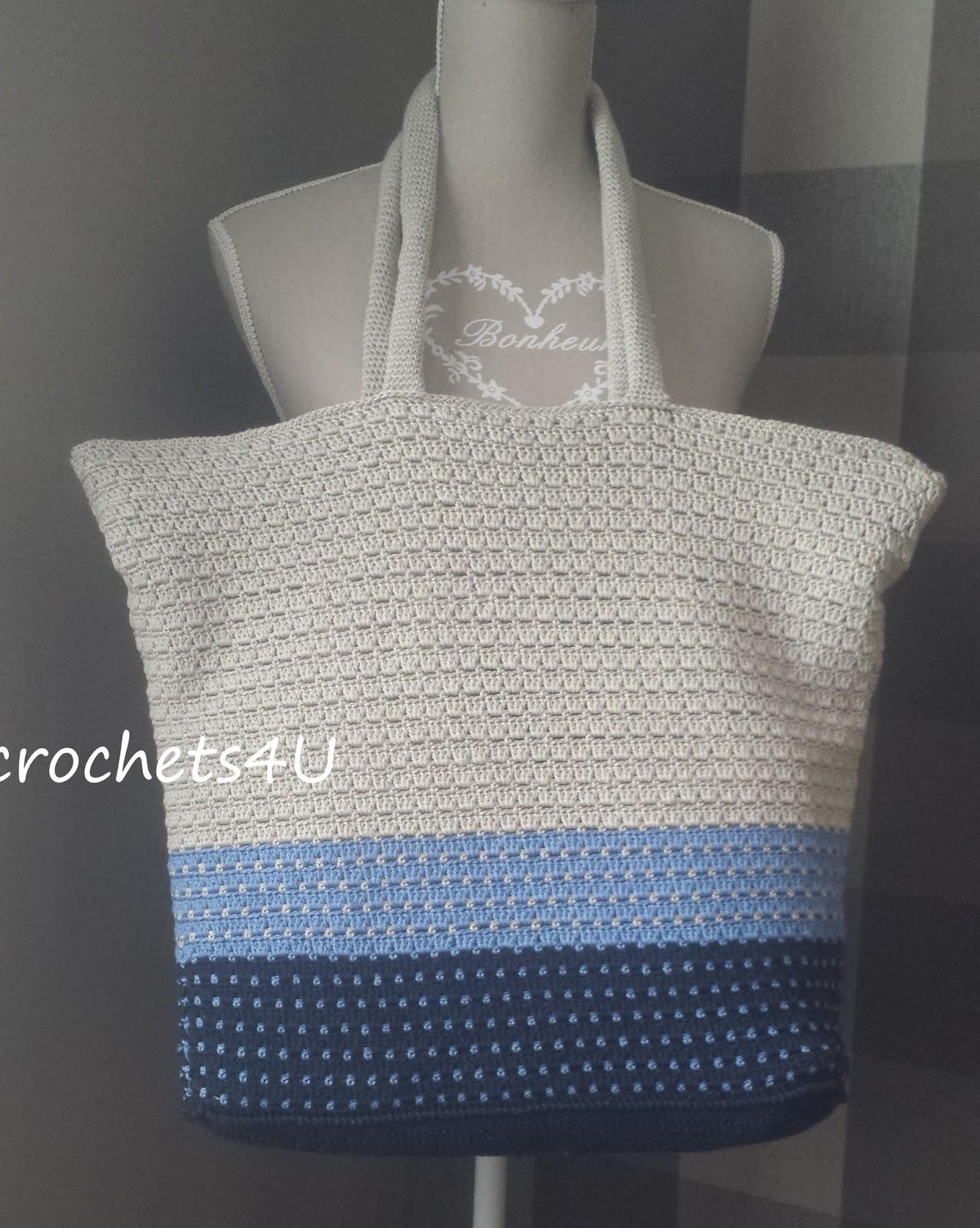 Crochets4u Strandtas Haken