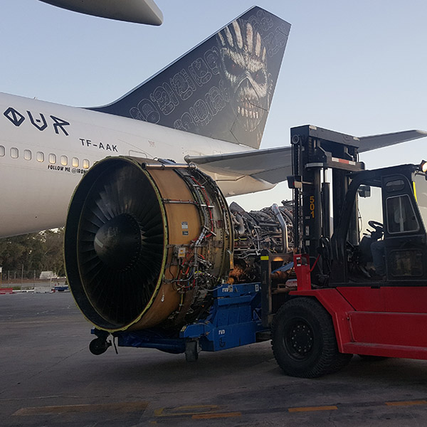 Ele está de volta! 747 Ed Force One retorna para Turnê de Iron Maiden