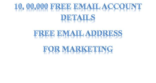 email address list free