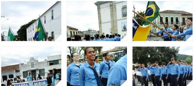 Celebração do Dia da Independência em Iguape