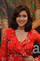 Mannara Chopra in deep neck Short red sleeveless dress Cute Beauty ~  Exclusive Celebrities Galleries 024.JPG