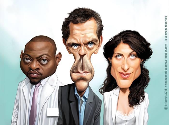 Dr. House por Jean-Marc Borot