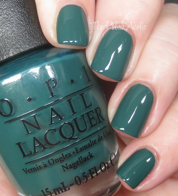 Opi Nail Polish Blue Green | Hession Hairdressing
