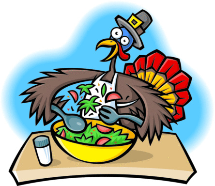 Thanksgiving Funny Turkey Clipart