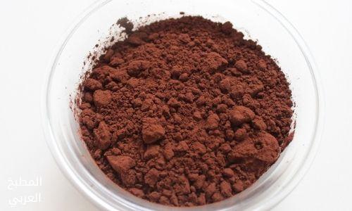 مسحوق الكاكاو شوكولاتة ساخنة منزلية