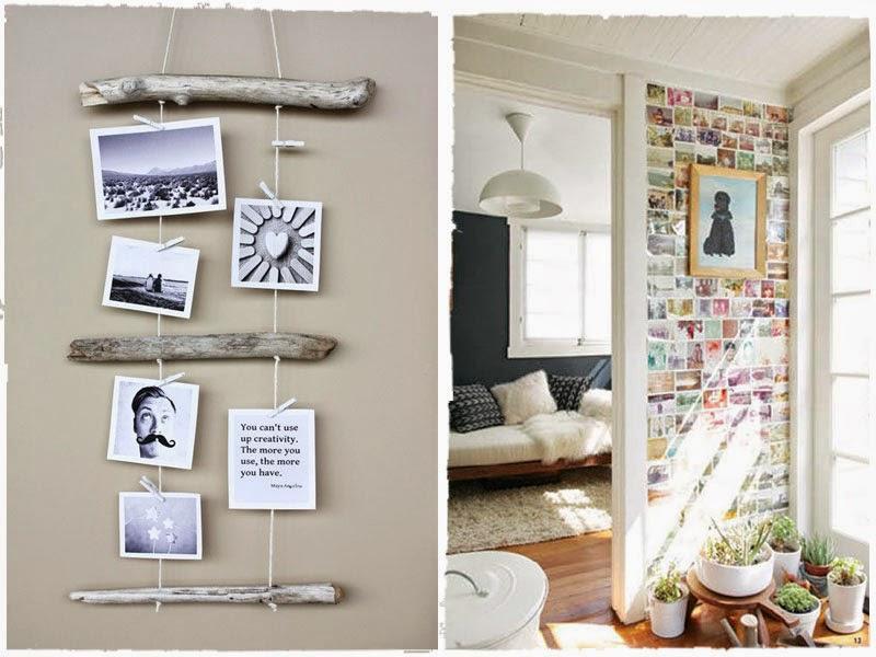 decorar, fotos, fotografía, decoración, albums, casa, holgar manualidades