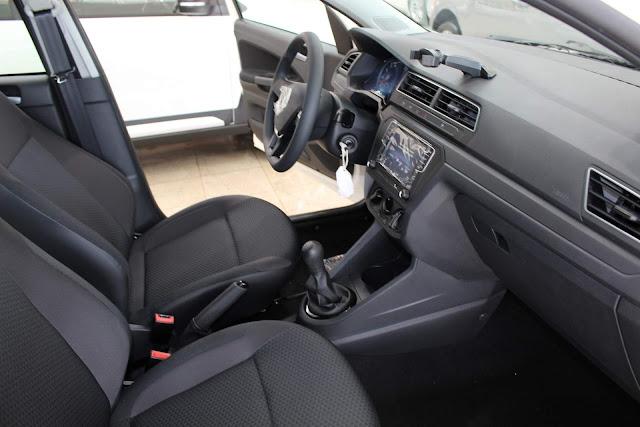 Novo VW Gol 2019 - interior - painel