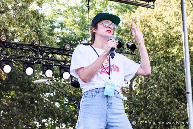 Annie Murphy at Royal Mountain Records Festival at Rasberry Farm at The Royal Botanical Gardens in Hamilton on September 2, 2018 Photo by John Ordean at One In Ten Words oneintenwords.com toronto indie alternative live music blog concert photography pictures photos