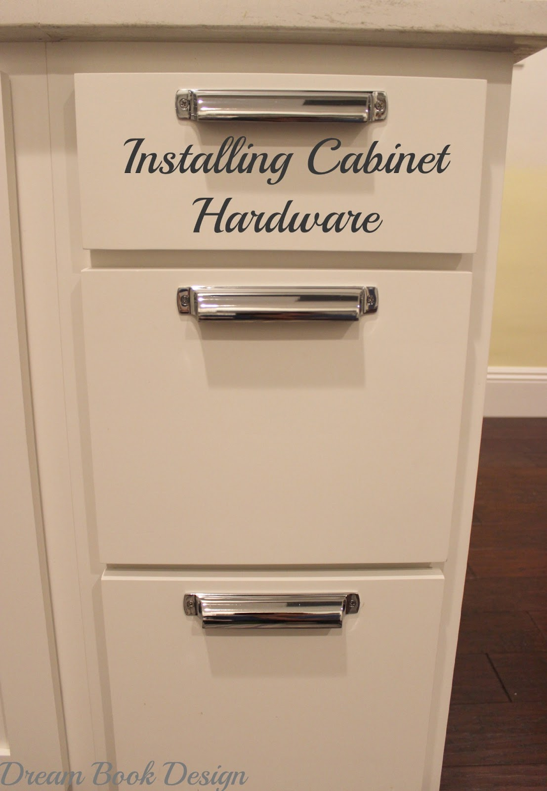 How To Install Kitchen Cabinet Hardware Tutorial Dream Book Design