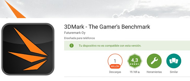 Tu dispositivo no es compatible con esta version GOOGLE PLAY