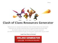 Script Phising Clash Of Clans Generator Terbaru 2016
