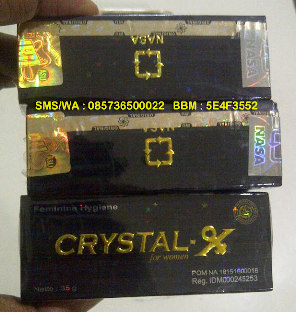 CRYSTAL X ORI ASLI ORIGINAL Crystal X CX