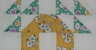 Moore About Nancy Single Wedding Ring Quilt Block