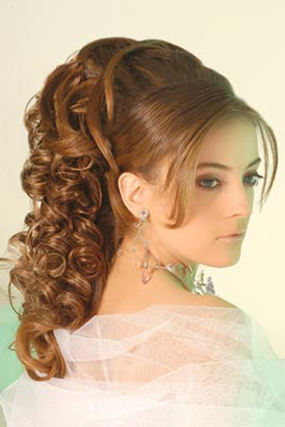 Awesome Most Beautiful Party Hairstyles For Girls And Women 2015 2016 Hairstyle Inspiration Daily Dogsangcom