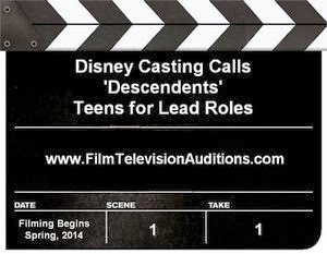 Disney Casting and Auditions Information for Descendents