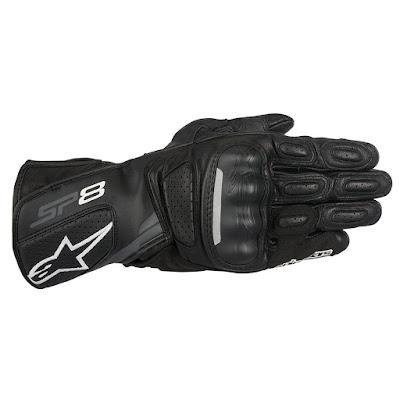 Γάντια Μηχανής Alpinestars SP-8 V2 Black-Dark Gray