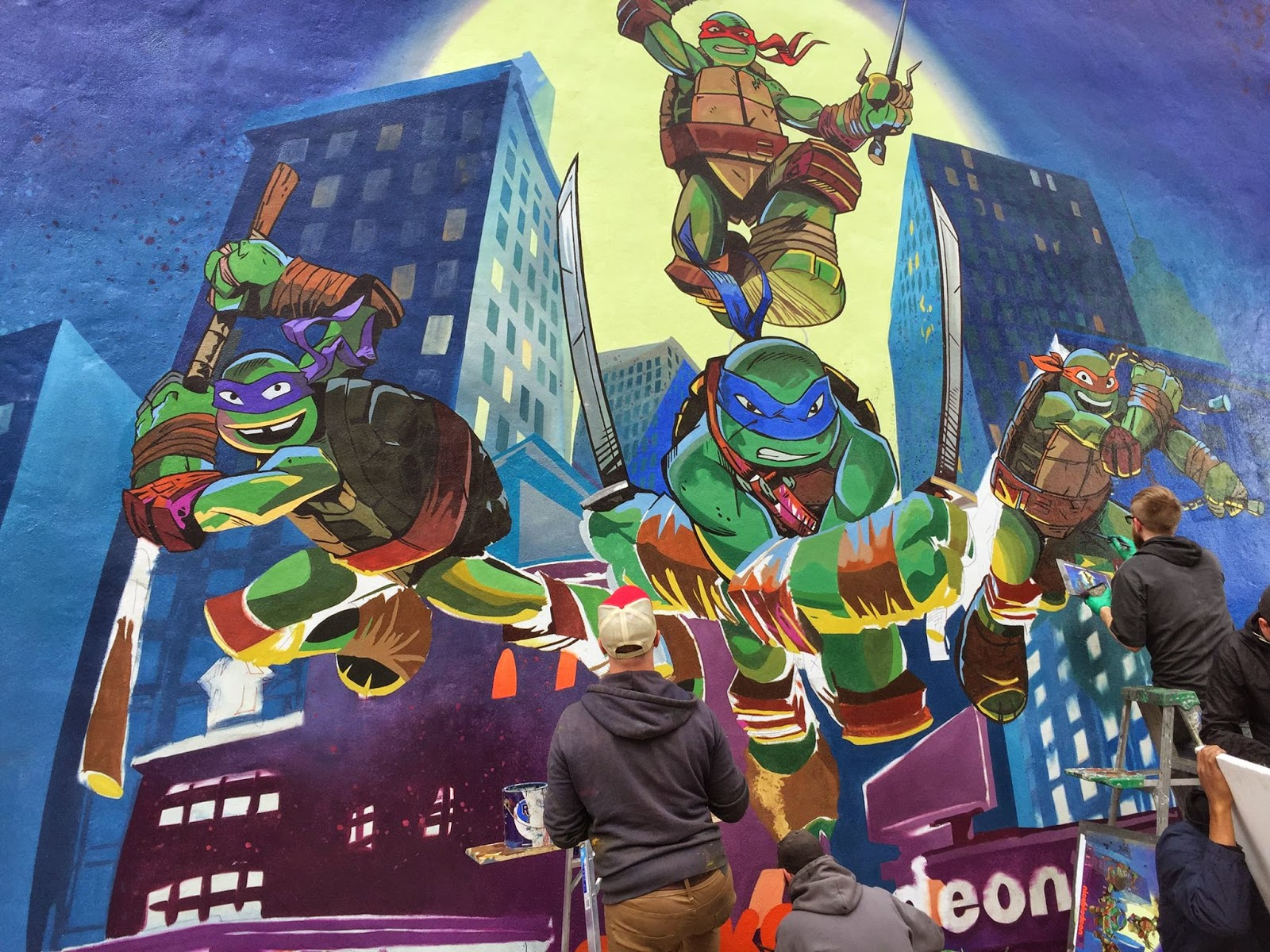 "NickALive!: Nickelodeon Unveils New ""Teenage Mutant Ninja ...