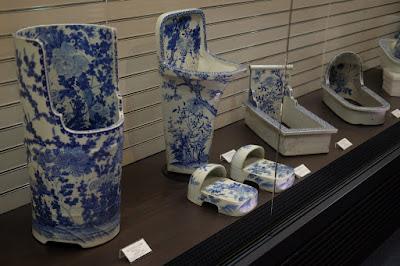 瀬戸市のやきもの博物館 瀬戸蔵ミュージアム 瀬戸焼の便器