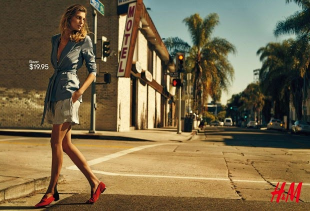 Daria Werbowy for H&M Spring Summer 2015