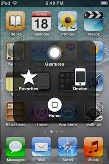 Memunculkan Assitivetouch untuk iPhone, iPad dan iPod