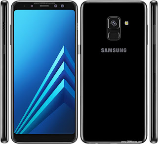 Galaxy A8 (2018) warna hitam