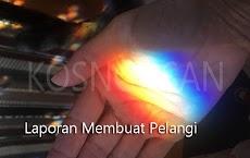 Contoh Laporan Hasil Percobaan Membuat Pelangi Bahasa Indonesia