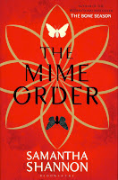 The Mime Order uk hardback book cover by Samantha Shannon