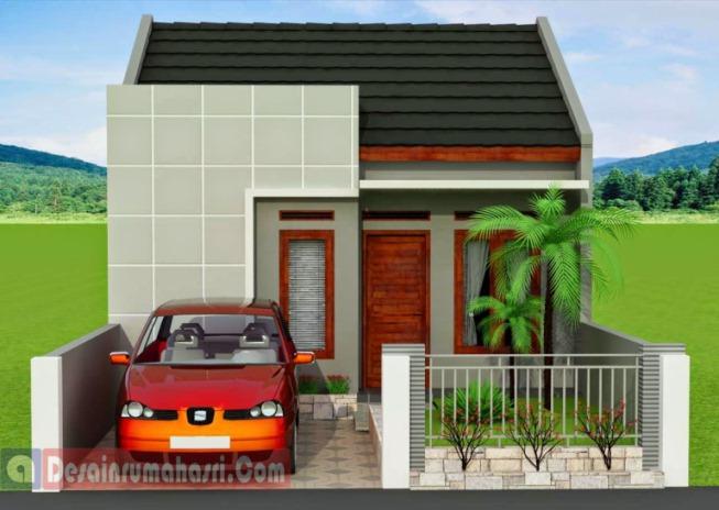 Model Rumah Minimalis 1 Lantai Teras Kecil