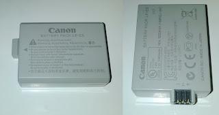Jual Baterai Canon Eos 1000D, 500D, 450D